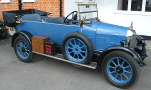 1924 Morris Cowley Tourer 'Bull Nose'
