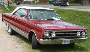 1967 Plymouth Satellite Hardtop