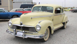 1947 Hudson Commodore Club Coupe