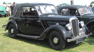 1935 - 1937 Morris 12 Series II Coupe