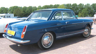 1962 - 1969 Peugeot 404 Coupe