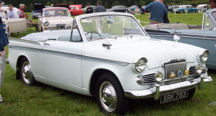 1959 - 1963 Sunbeam Rapier III Convertible