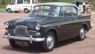 1961 - 1963 Sunbeam Rapier Series IIIA