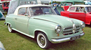 Borgward Isabella Coupe  1955 - 56