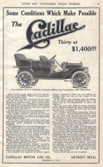 Original Cadillac Advertisement