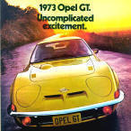 1973 Opel GT Advert