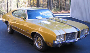 1971 Oldsmobile Cutlass S Coupe