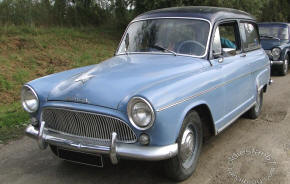 1960 - 1963 Simca Aronde Ranch