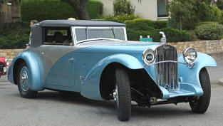 1935 Delage D8 SS100