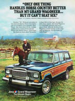 Jeep Wagoneer Advertising Poster