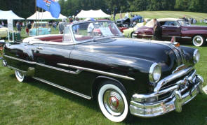1953 Pontiac Chieftain Convertible Coupe