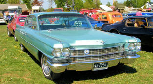 Cadillac 62 4-Window 1963