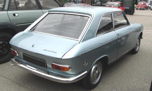 1966 - 1970 Peugeot 204 Coupe