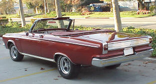 1965 Dodge Coronet 500 Convertible Coupe