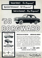 Original Borgward Advertisement