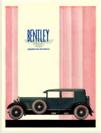 Old Bentley Poster