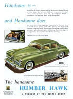 Humber Hawk Advertising Poster