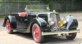 Aston Martin 15/98 Short 2/4 seater  1937 - 39