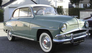 1956 - 1960 Simca Aronde Coupe