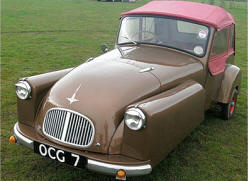 Bond Minicar (Three Wheeler)  1948 - 65
