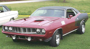 1971 Plymouth Barracuda Cuda 340