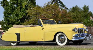1947 Lincoln Continental Convertible Coupe