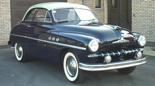 1950 Ford Vedette Coupe