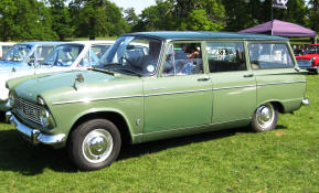 1965 - 1967 Hillman Super Minx Estate