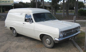 1968 Holden Panel Van