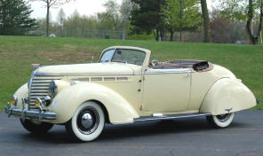 1938 Hudson Deluxe Eight Convertible