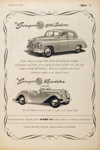 Singer Motors Advertising Poster