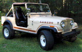1976 - 1982 Jeep CJ7 Laredo