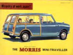 Morris Mini Traveller Advert