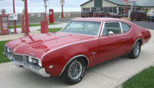1968 Oldsmobile F85 Cutlass Sport Coupe