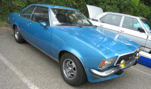 1972 - 1977 Opel Commodore B GSE