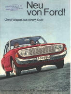 Ford Germany Ad Poster