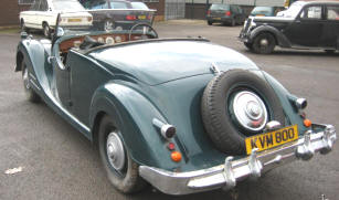 1949 - 1951 Riley 2.5 RMC