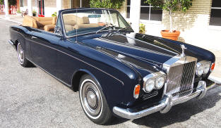 1966 - 70 Rolls Royce Silver Shadow I Convertible