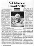 Donald Healey Article