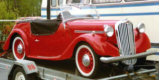 1949 - 1950 Singer Nine Roadster