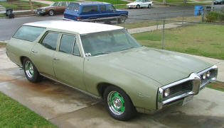 1968 Pontiac Tempest Custom S Station Wagon