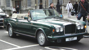 Bentley Continental Drophead Coupe  1984 - 89