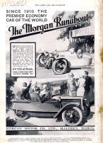 Morgan Sports Advertising Poster