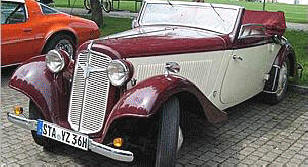 Adler Trumph Junior Cabriolet 1936 - 41