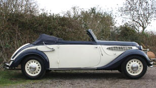 1937 Frazer Nash BMW 326 Convertible