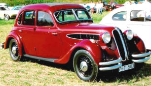1937 Frazer Nash BMW 326 4 door