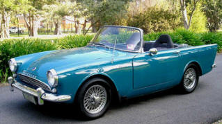 1959 - 1960 Sunbeam Alpine Series I