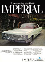1968 Imperial Advertisement