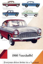 1960 Vauxhall Advertising Poster