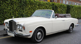 Bentley Corniche Convertible  1971 - 84